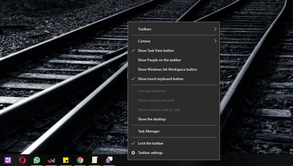 How to Block Taskbar Changes in Windows 10 October 2018 Update