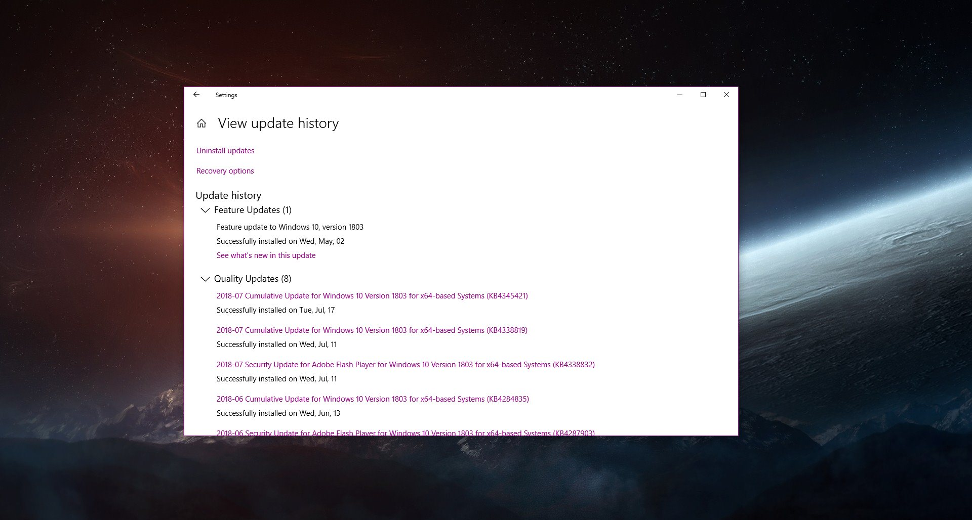 How to Clear the Windows Update History in Windows 10