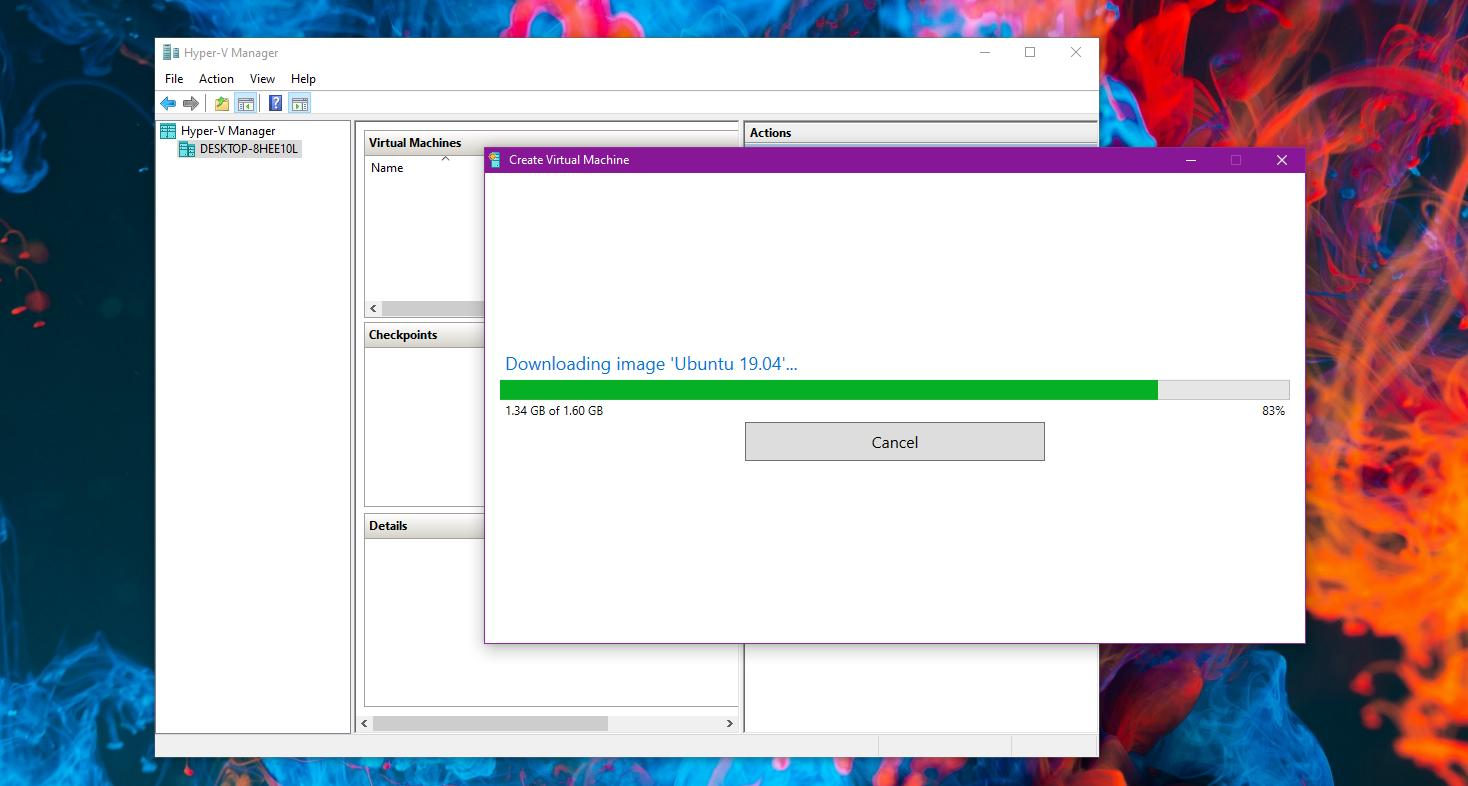 How to Create an Ubuntu Virtual Machine on Windows 10 Using Hyper-V