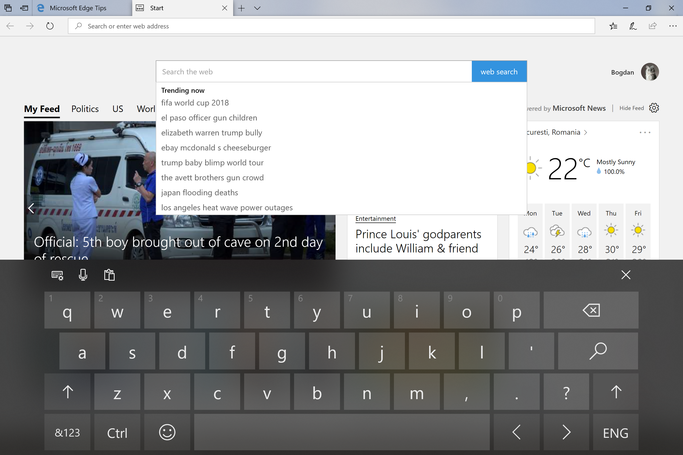 How to Disable SwiftKey in Windows 10 Redstone 5