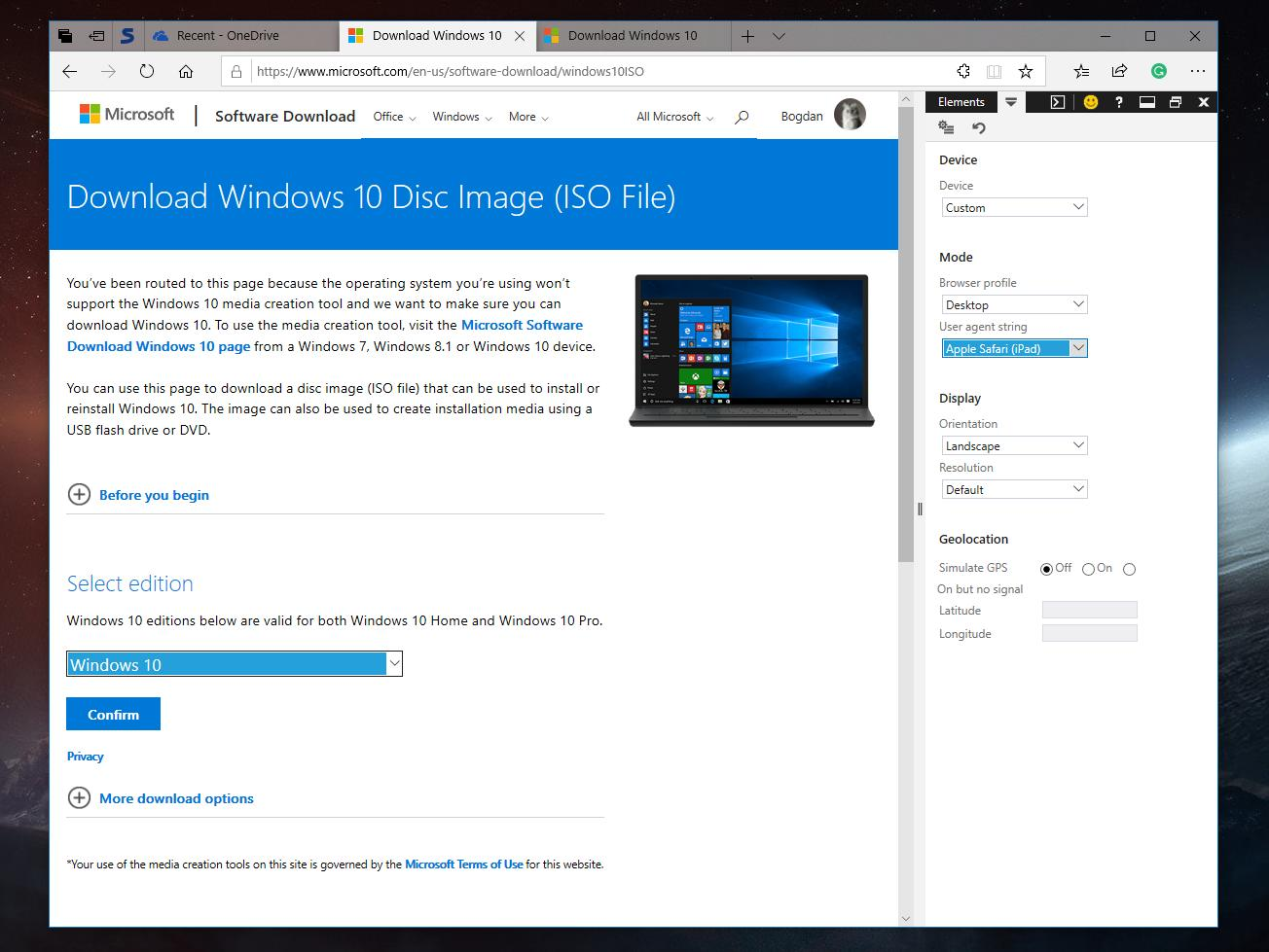 How to Download the Windows 10 ISO Directly from Microsoft