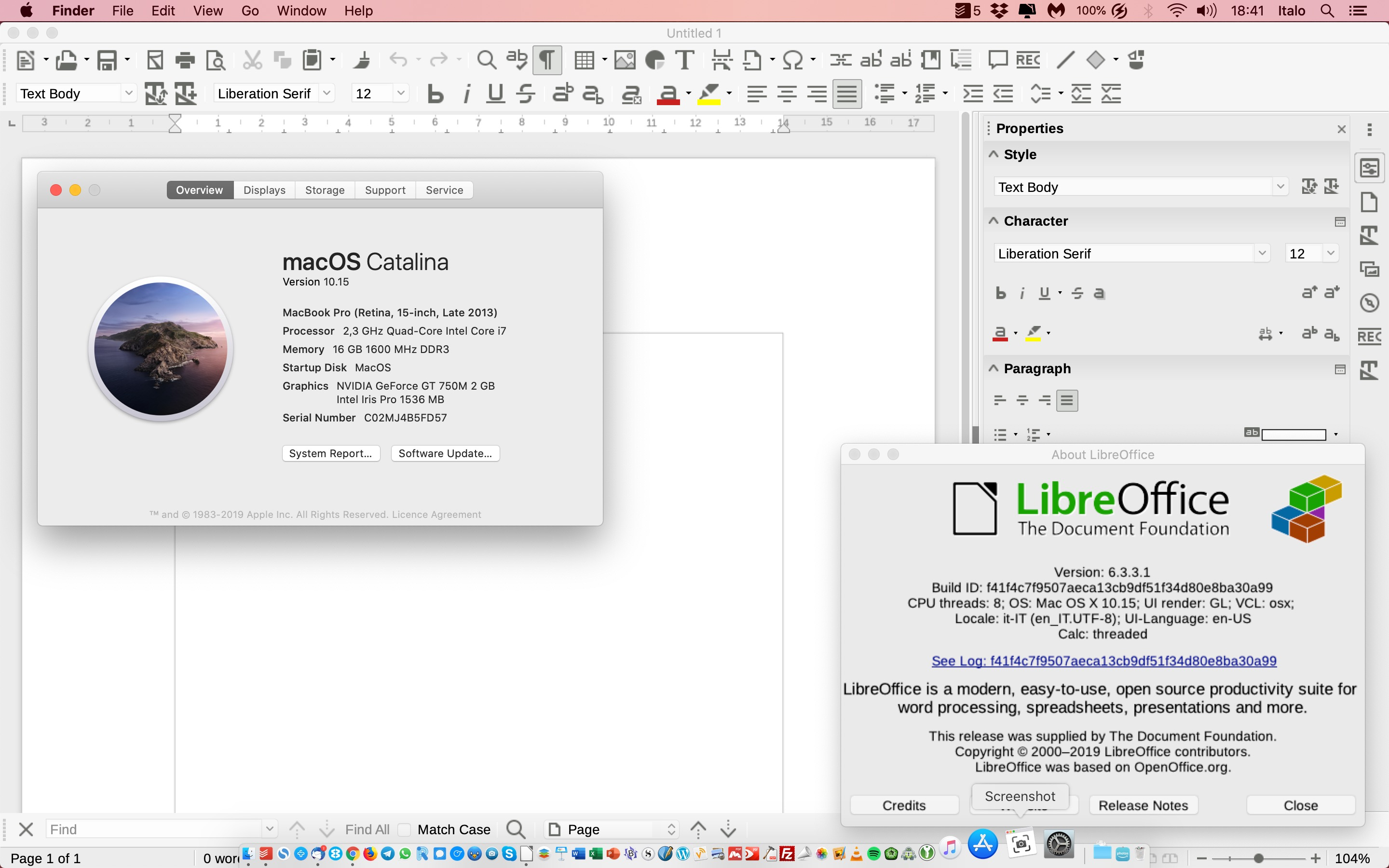 How to Fix LibreOffice Running Issues on macOS Catalina