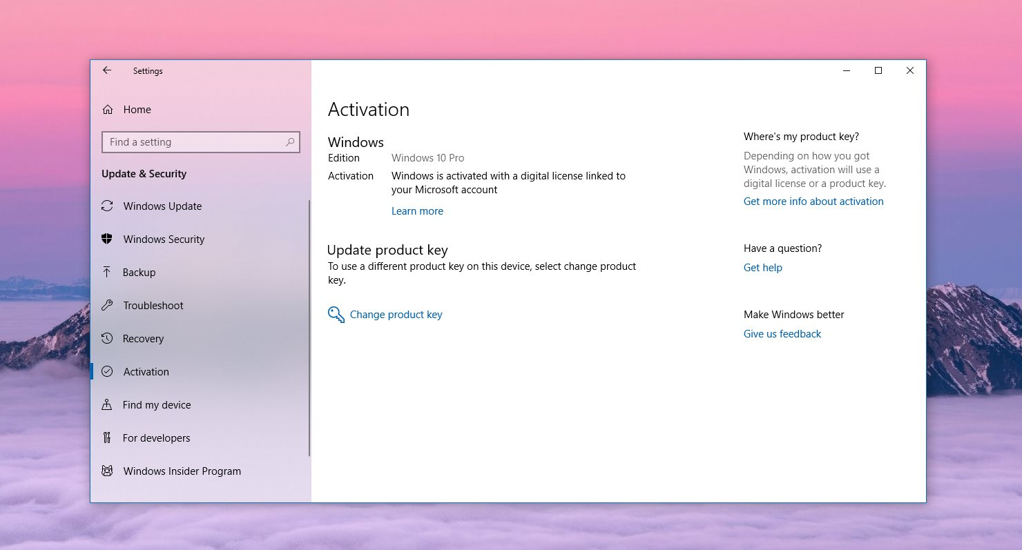 How to Fix the Windows 10 Activation Bug