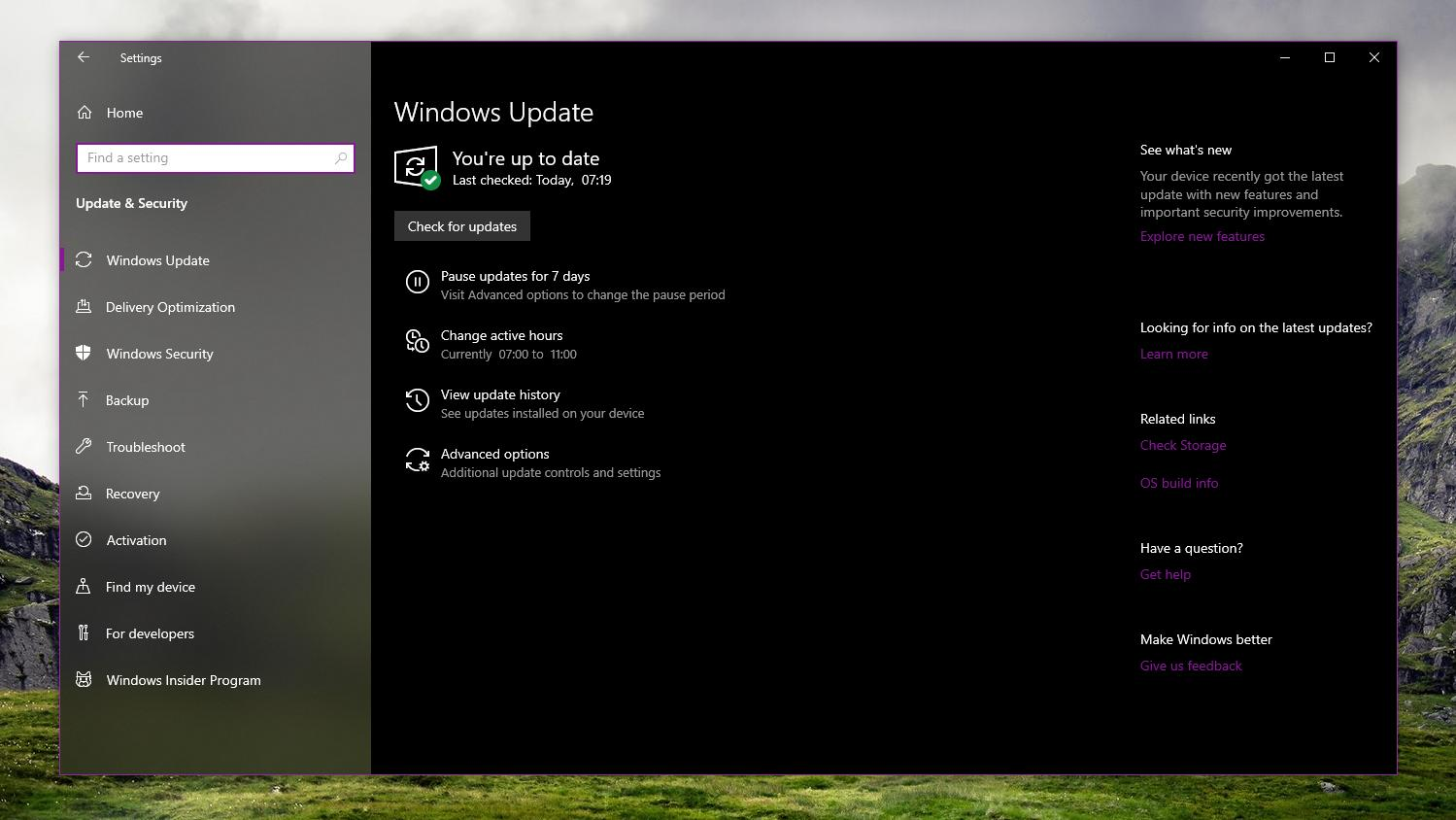 latest windows update issues
