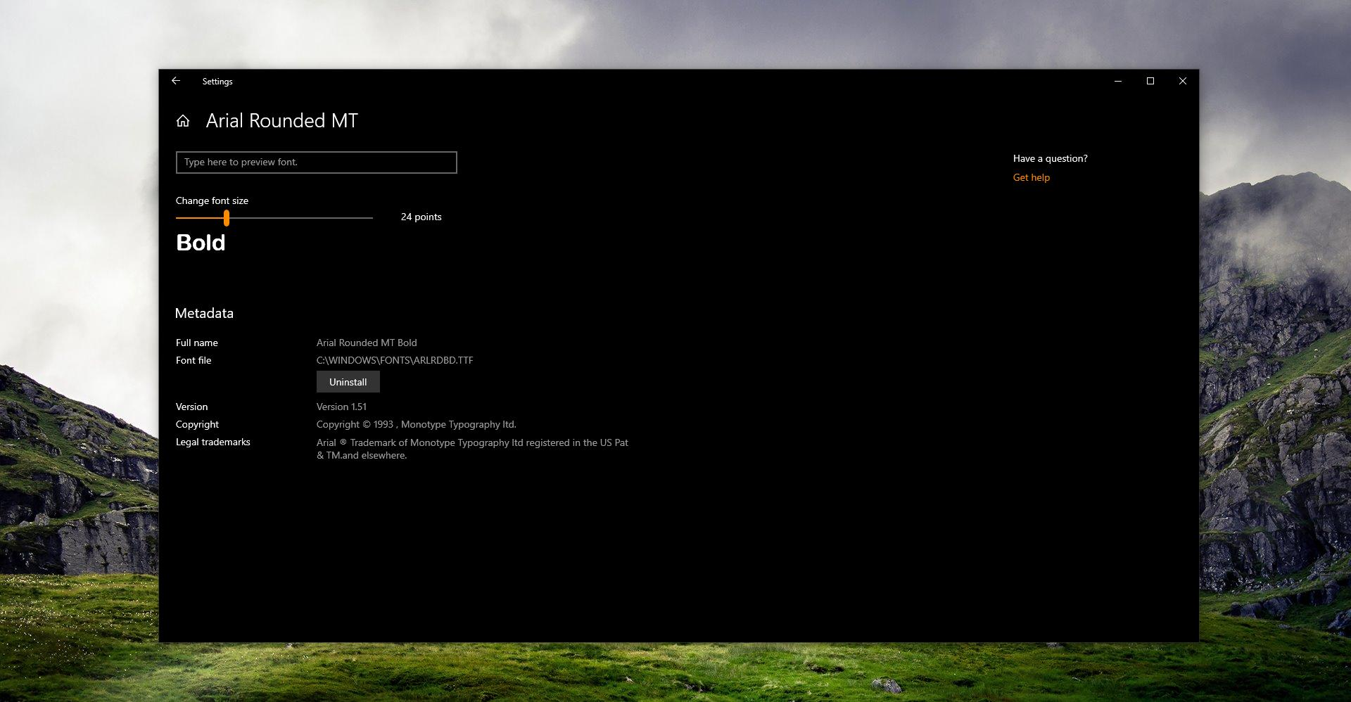 How to Install Fonts on Windows 10 Version 1903