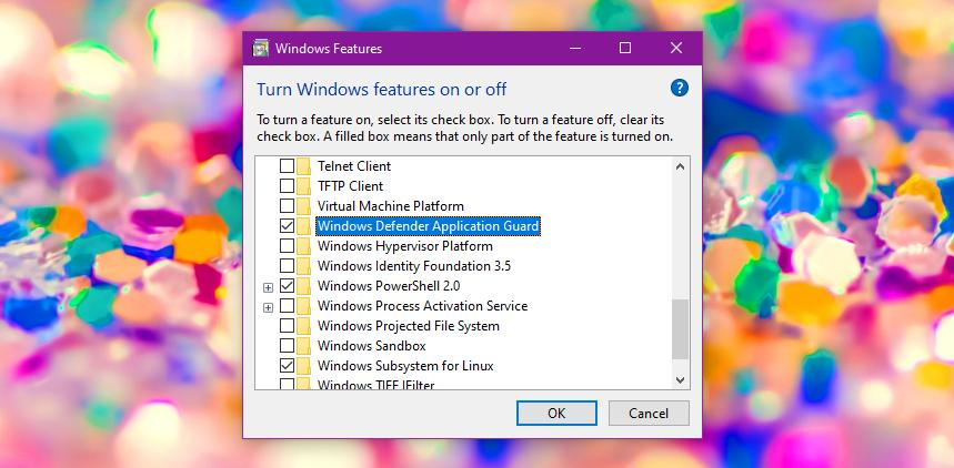How to Install Windows Defender Application Guard for Google