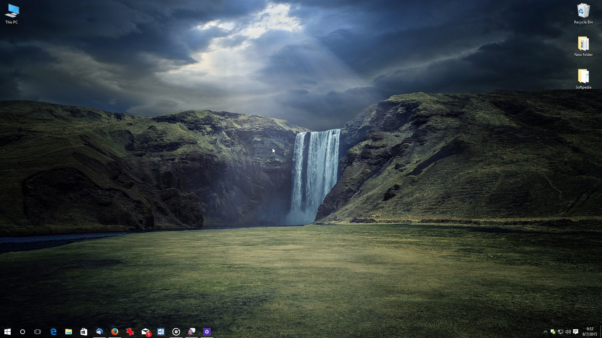full taskbar transparency in windows 10