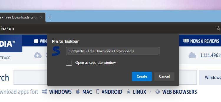 How to Pin Sites to the Windows 10 Taskbar in Chromium