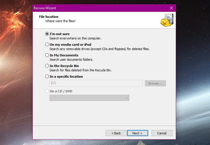 How to Recover User Files Deleted by Windows 10 Version 1809 During