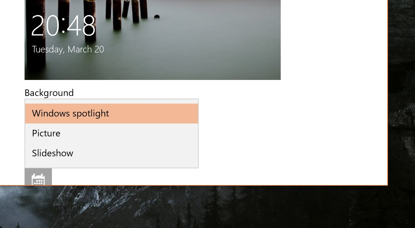How to Reset Windows Spotlight in Windows 10 Fall Creators