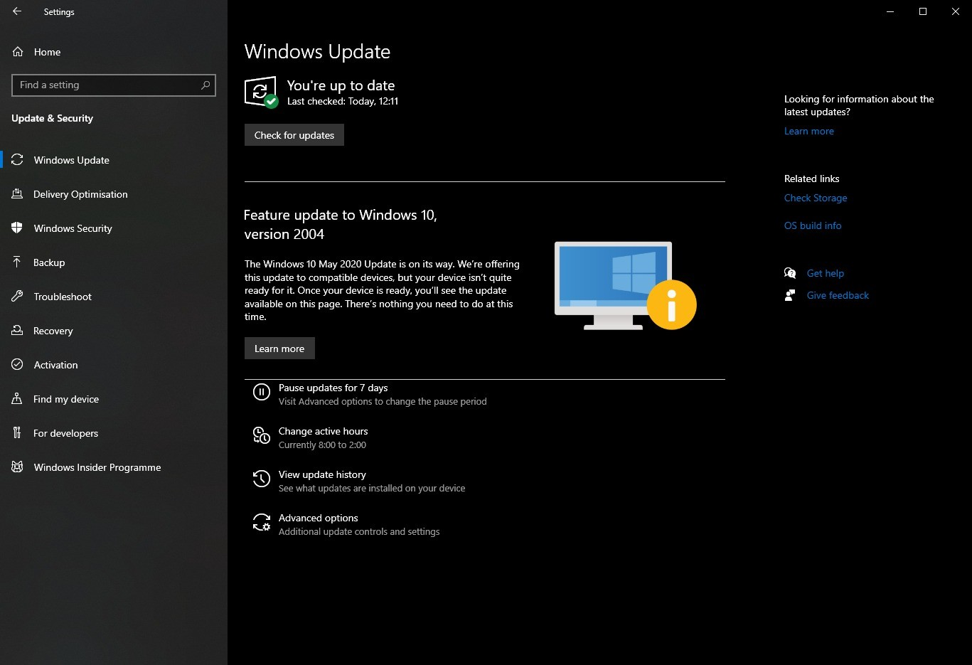 How to Tell if Windows 10 May 2020 Update Is Blocked on ...