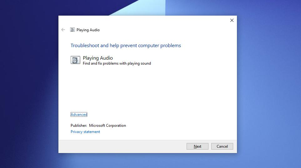 How to Troubleshoot Sound Issues in Windows 10 Version 1809
