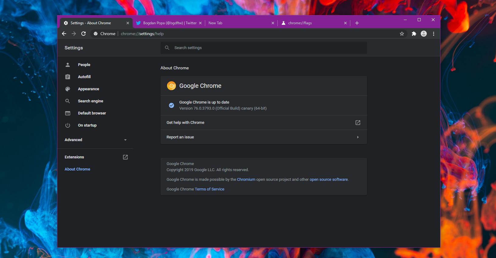 How to Try Out the New Animation on Google Chrome's NTP