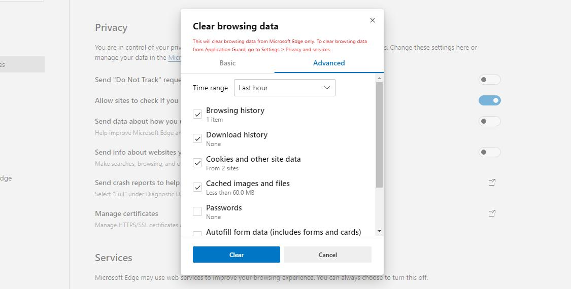 How to Try Out the New Data Cleaning Feature in Microsoft Edge