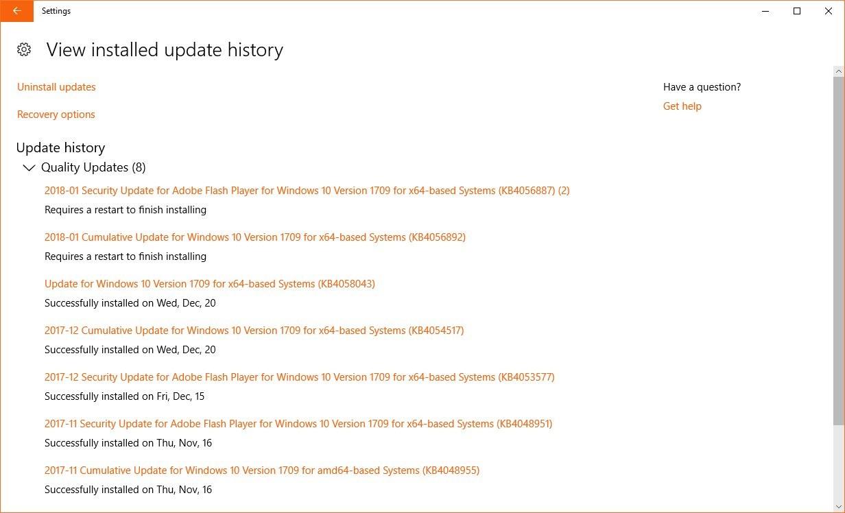How to Uninstall Broken Windows 10 Updates