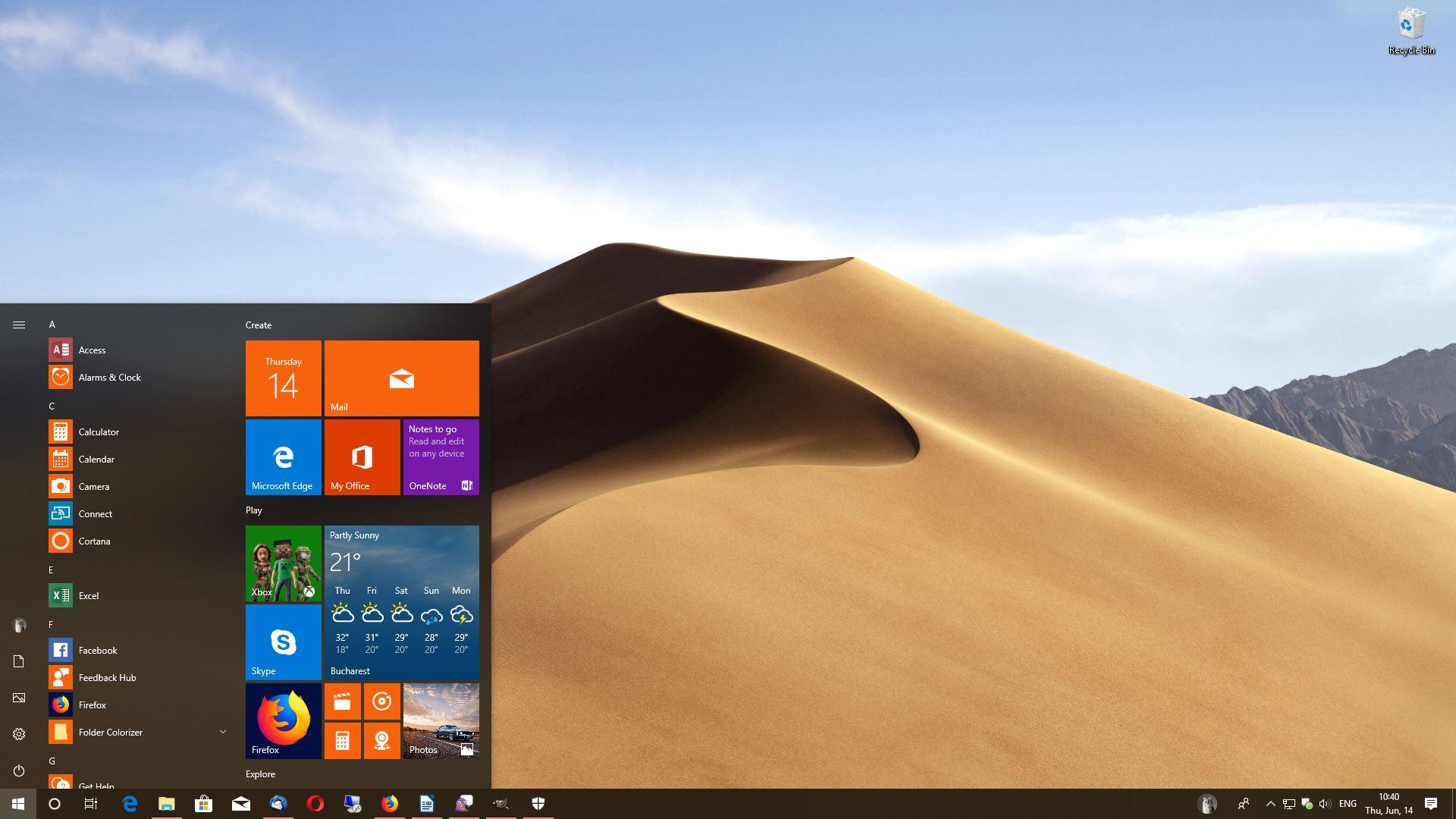 WinDynamicDesktop On Windows 10