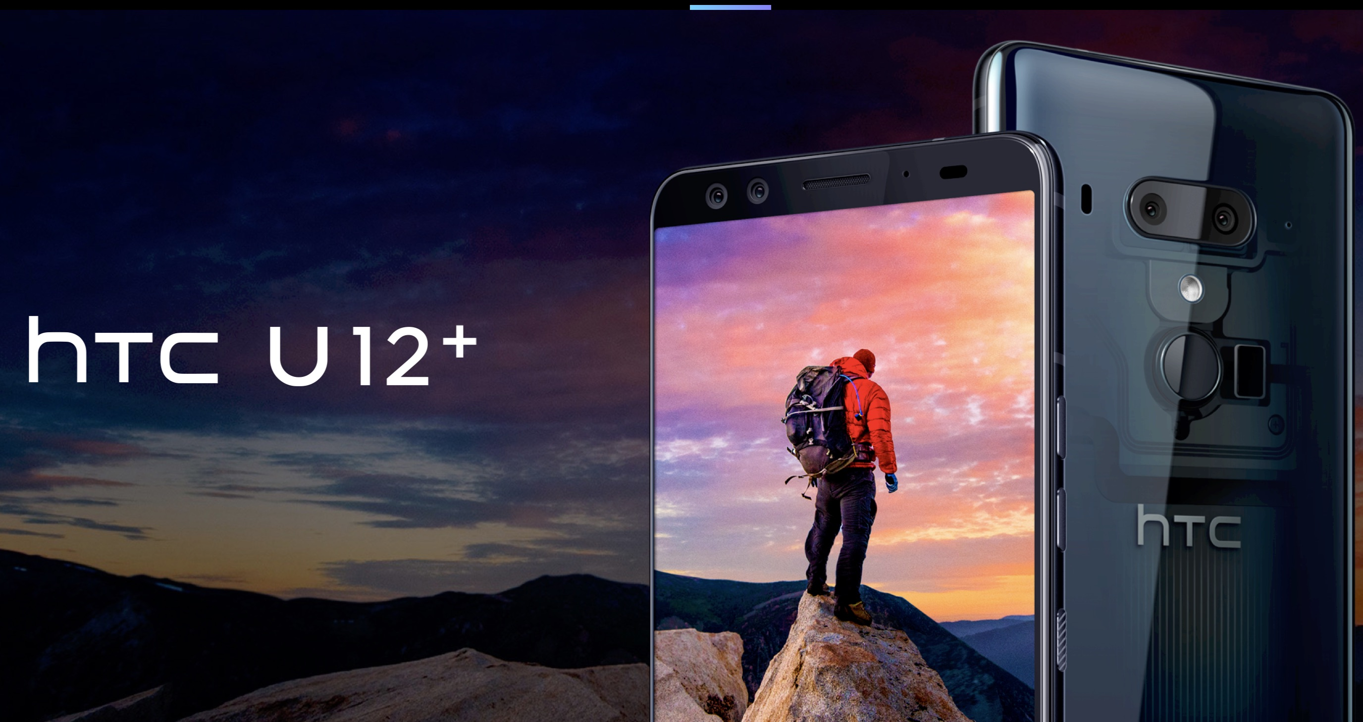 HTC U12+ Launches with Dual Rear & Front Cameras, 6GB RAM