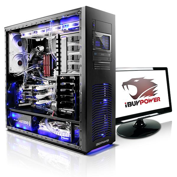 IBuyPower Water Cooled Erebus Gaming Desktop