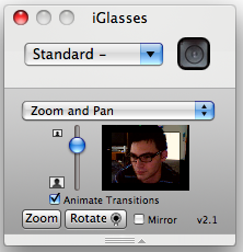 iGlasses 2 1 Adds Zoom Button, Improves Stability, Works