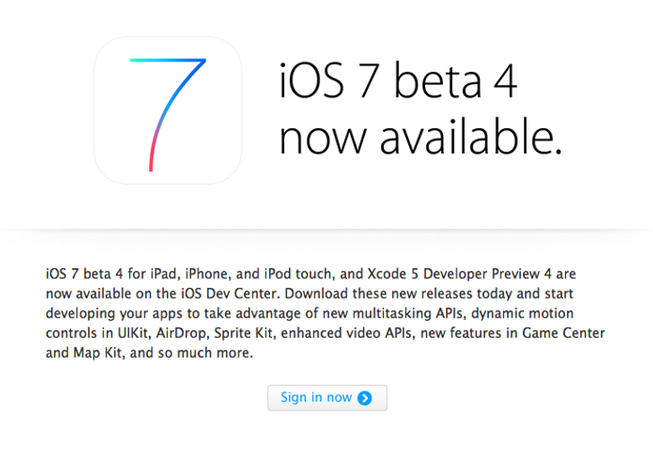 iOS 7 Beta 4 Full Release Notes Leaked