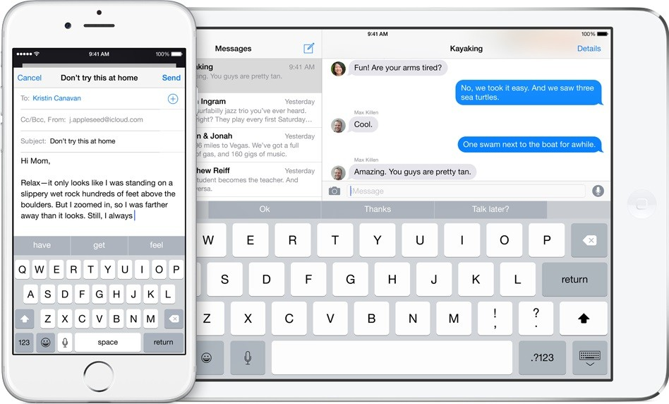 iOS 8 Text Prediction Shows Password String
