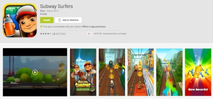 google play store subway surfers