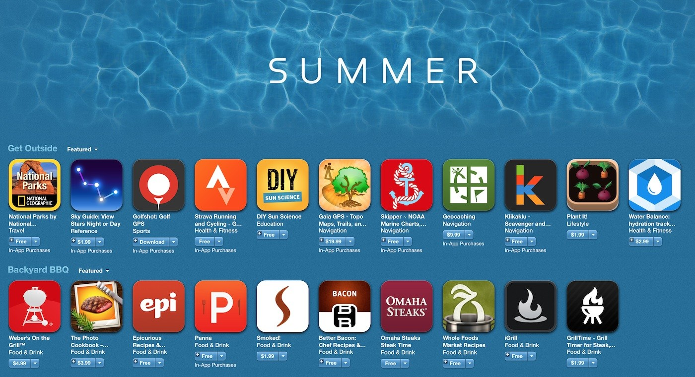 iOS Apps to Make the Best of This Summer