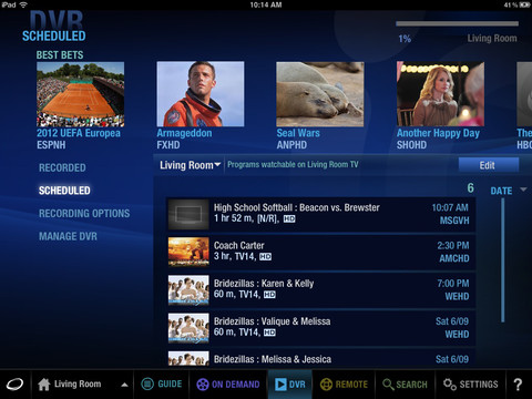 iOS TV: Optimum 3 0 App Redesigned from the Ground Up