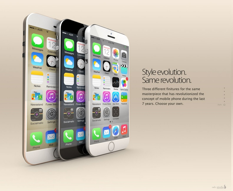 """iPhone L"" Is the First iPhone 6 Concept That Actually ..."