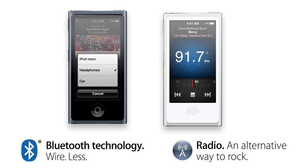 ipod nano 7g connect to bluetooth gear. Black Bedroom Furniture Sets. Home Design Ideas