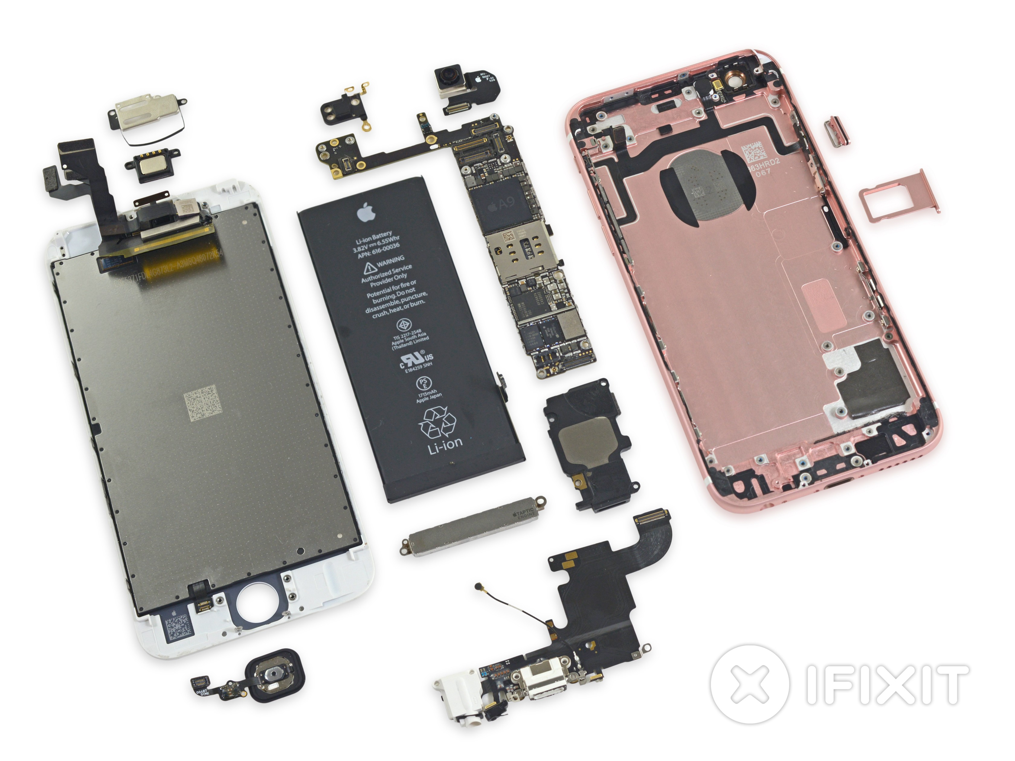 finest selection 32f30 24f99 iFixit Reveals 1715 mAh Battery in iPhone 6s Teardown