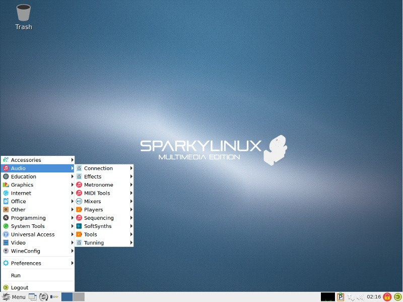 Introducing the SparkyLinux Multimedia Edition, a Live CD Full of
