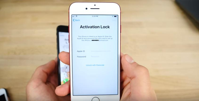 activation lock iphone x