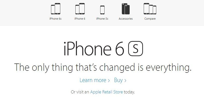 iPhone 6s Slogan Violating Chinese Laws, Apple Forced to Remove It