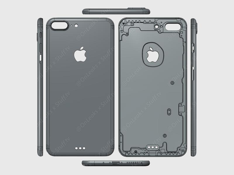 Iphone 7 Plus Cad Render