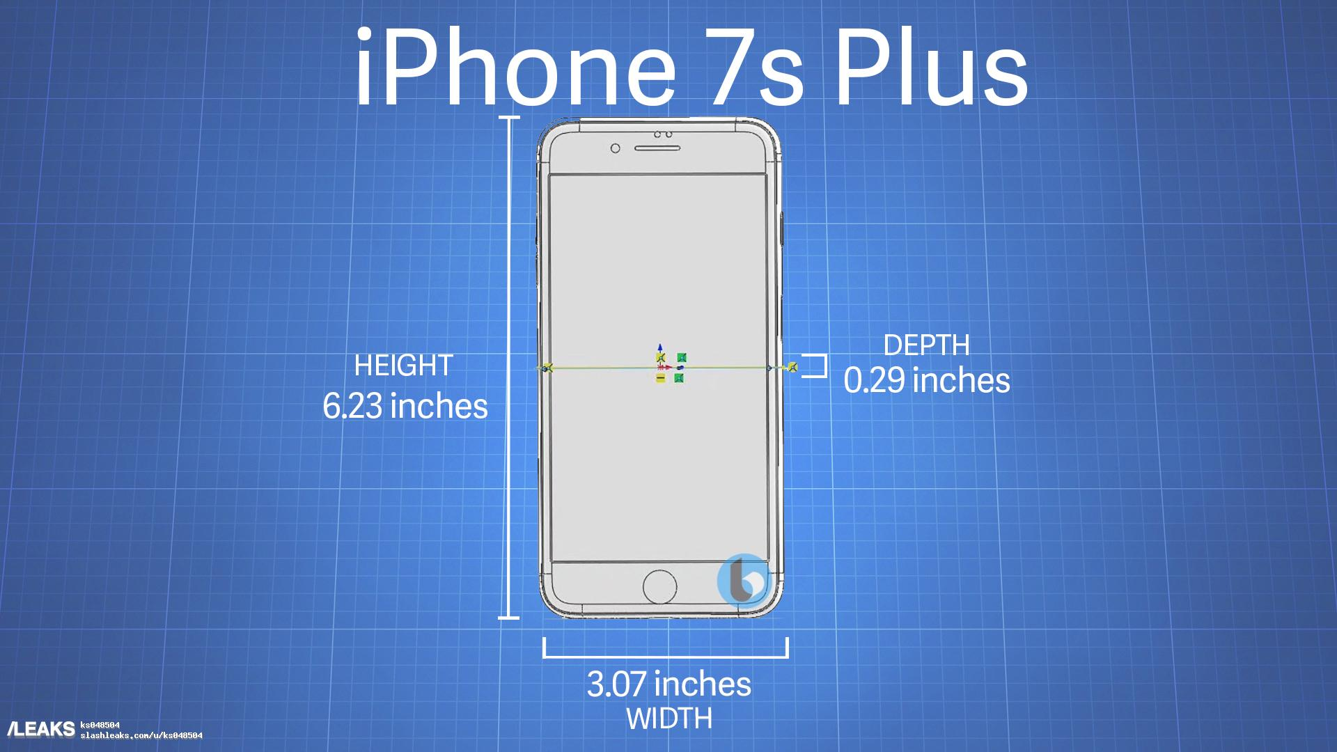 Iphone 7s And 7s Plus Dimensions Leak Hint At Glass Body