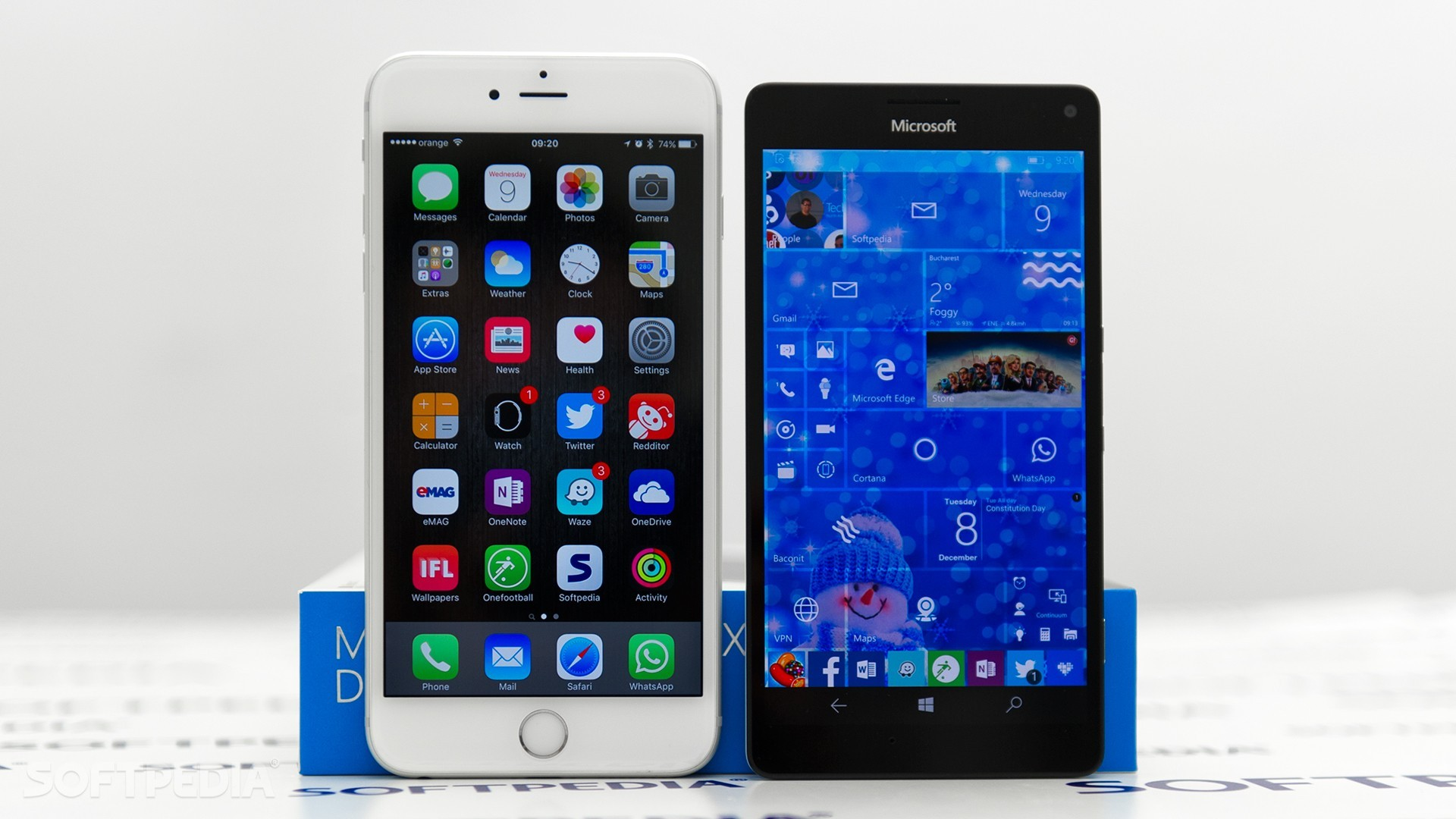 iPhone 7S Could Feature an Iris Scanner Similar to Lumia 950 XL's