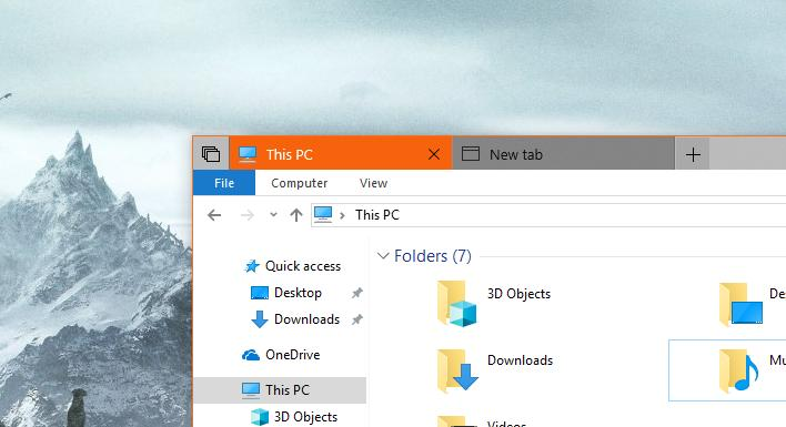 Is This the Reason Microsoft Delays Tabs in Windows 10?