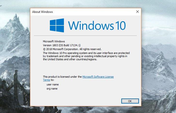 may 2018 windows 10 update