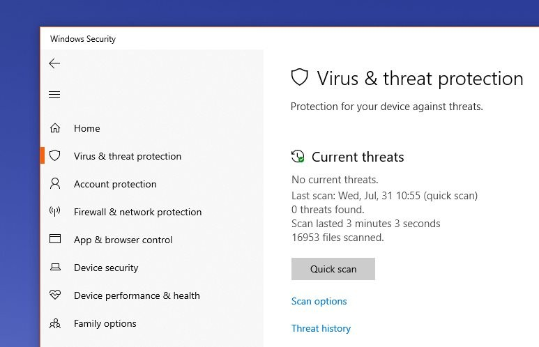 Just How Good Is Windows Defender Versus All of Its Rivals?