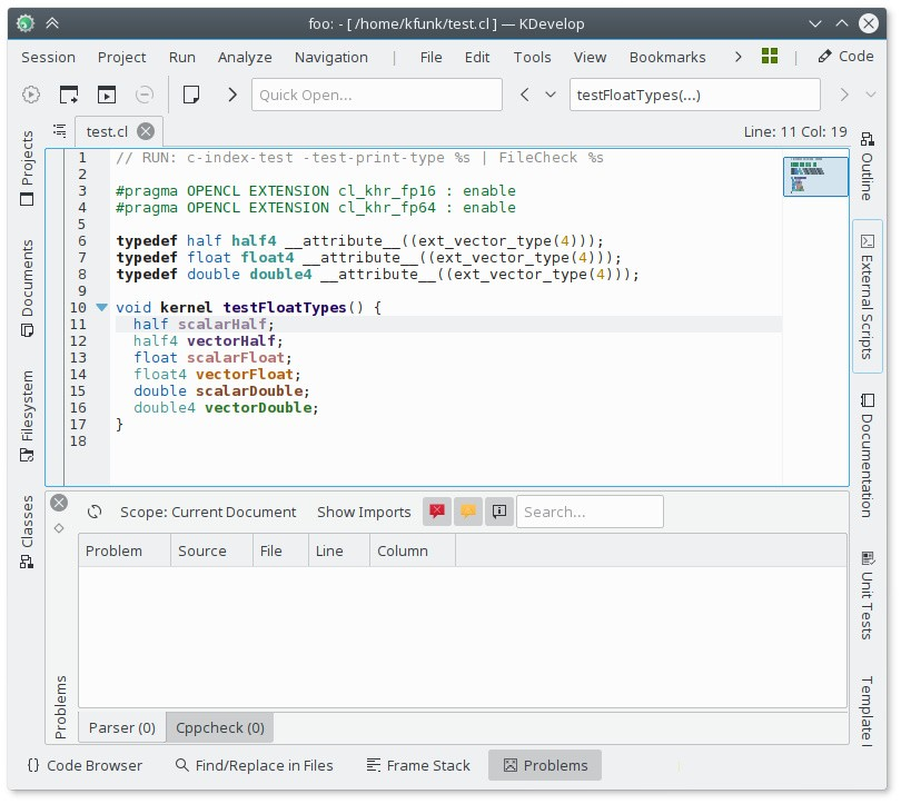KDevelop 5 1 Open-Source IDE Launches with LLDB and OpenCL Support