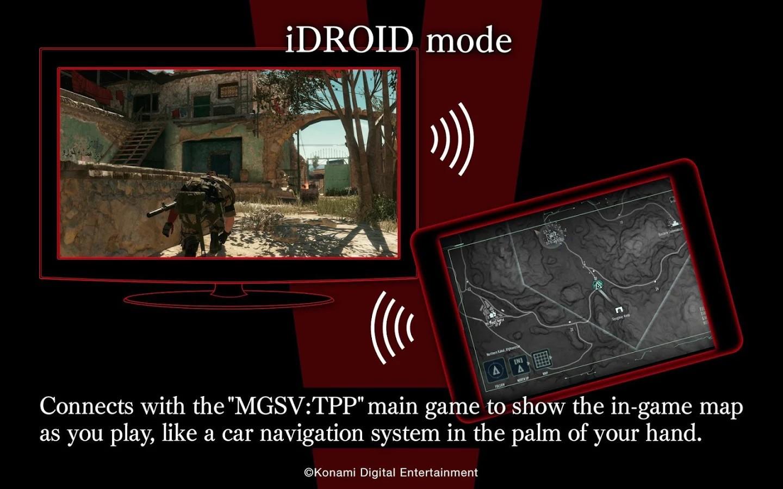 Konami Launches Metal Gear Solid V: The Phantom Pain Companion App