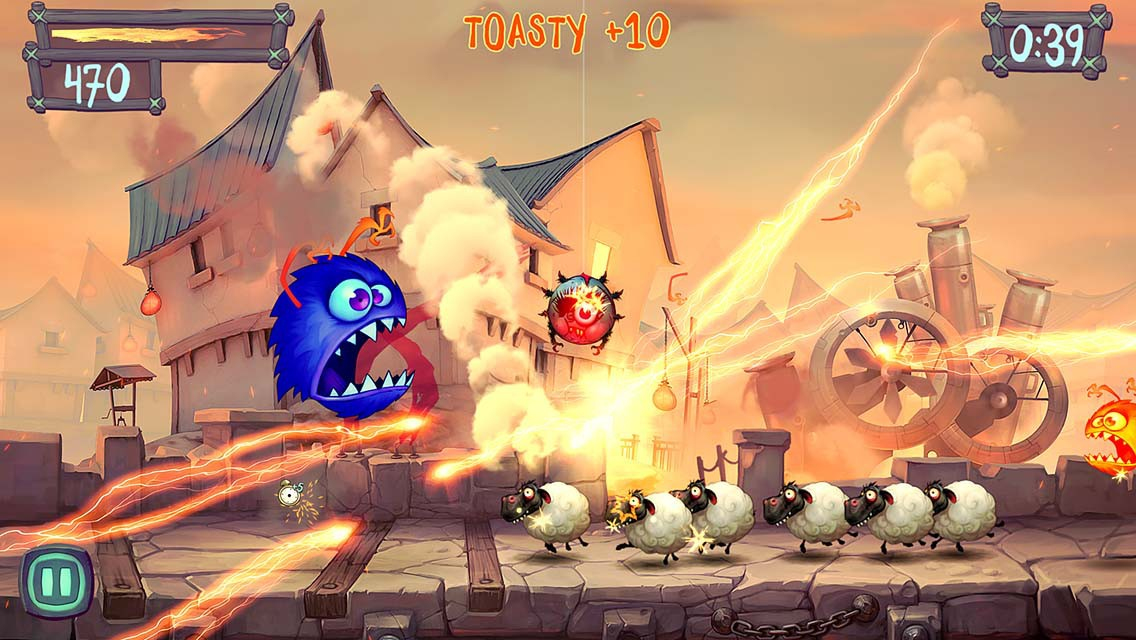 kung fu inspired mobile game fire fu coming to ios in february