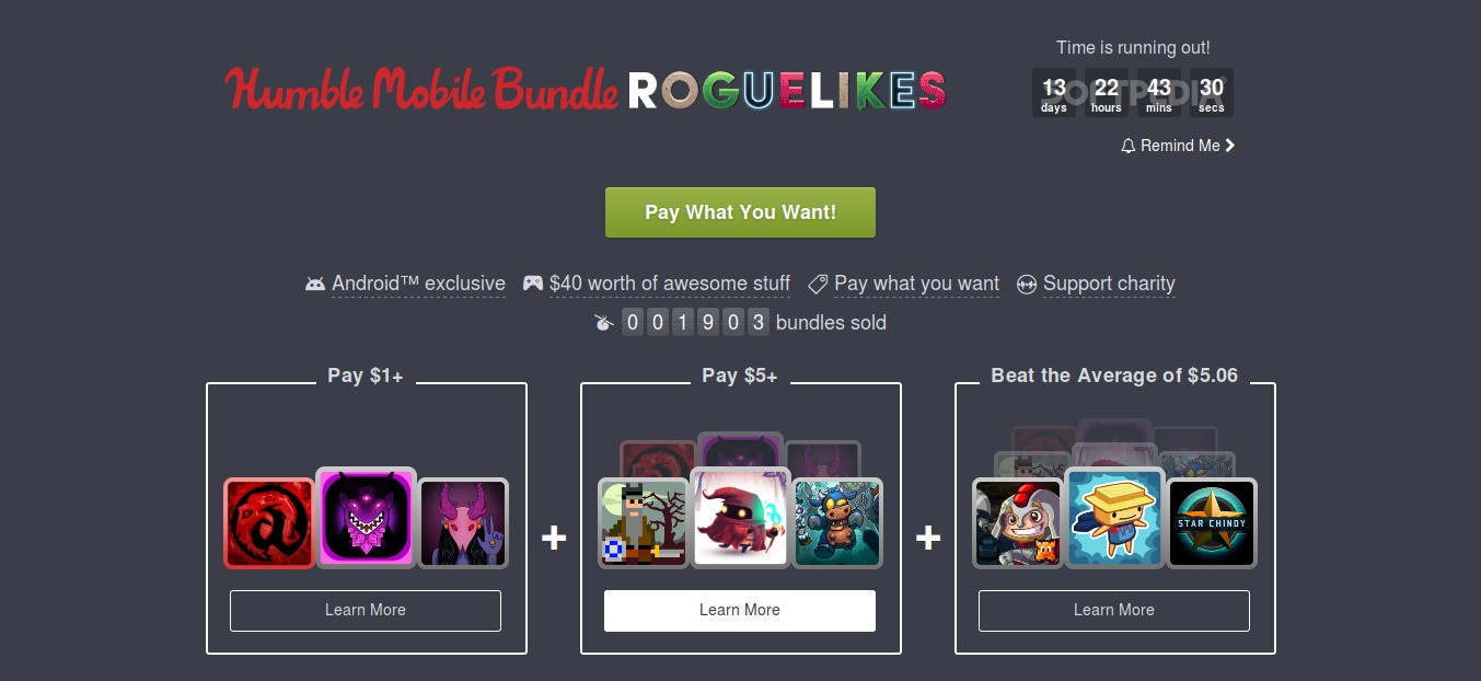 Humble Bundle Free Games 2020.Latest Humble Mobile Bundle Has 9 Awesome Roguelike Mobile