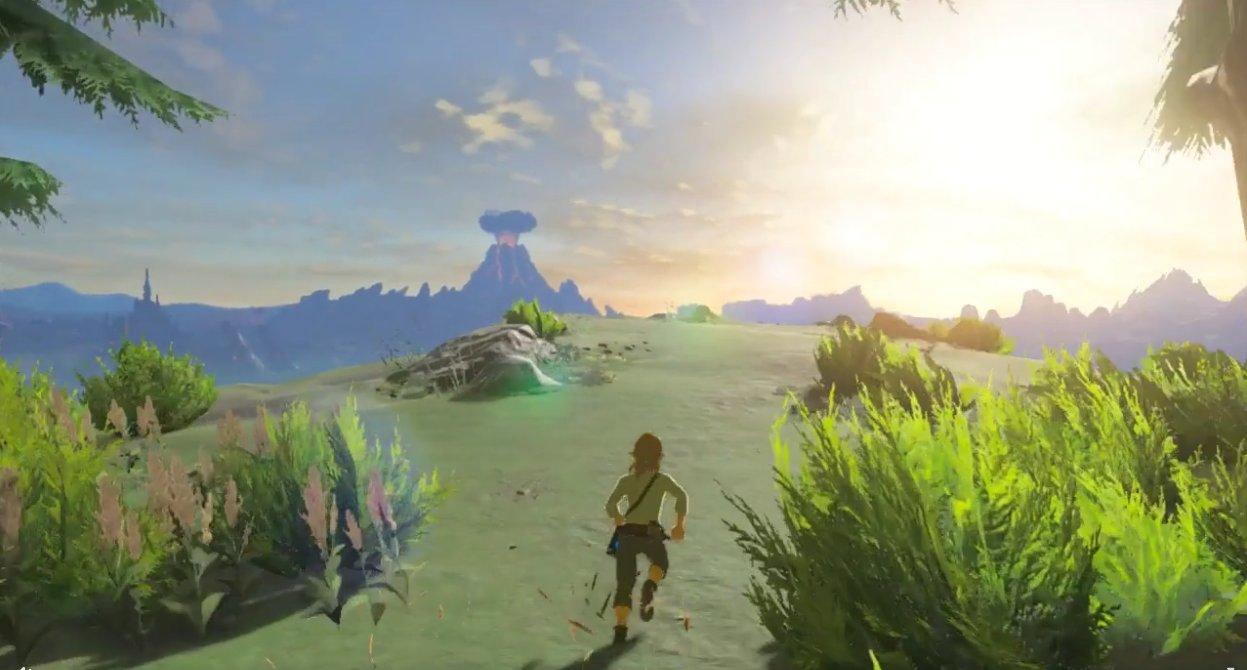 Legend of Zelda: Breath of the Wild Already Running on Wii U