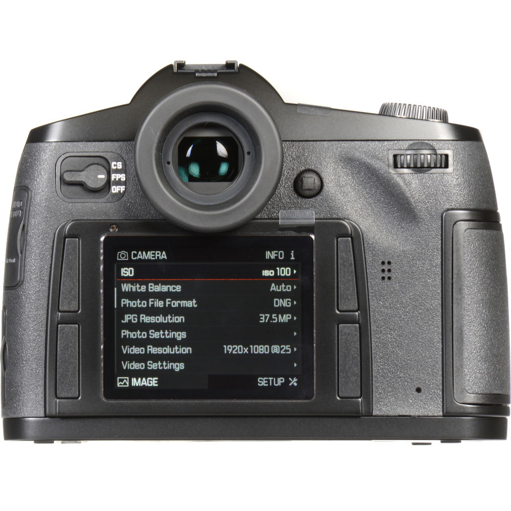 Leica S (Typ 007) Camera Receives New Firmware - Download Version