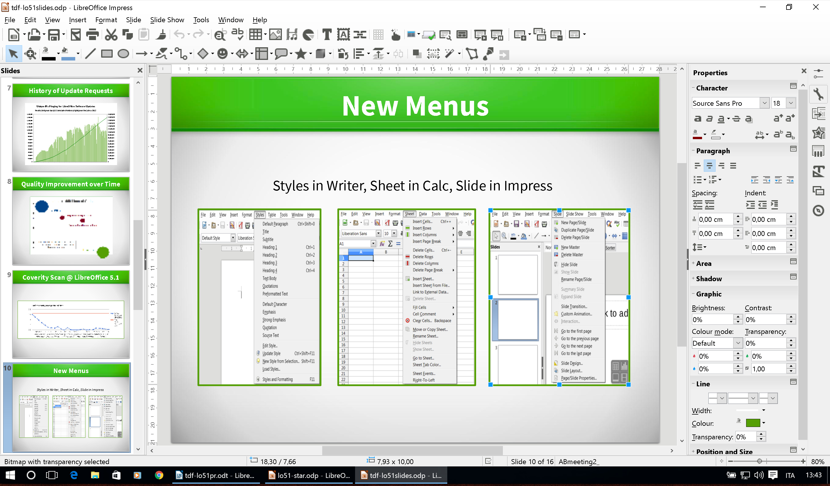 libreoffice 5.0.6