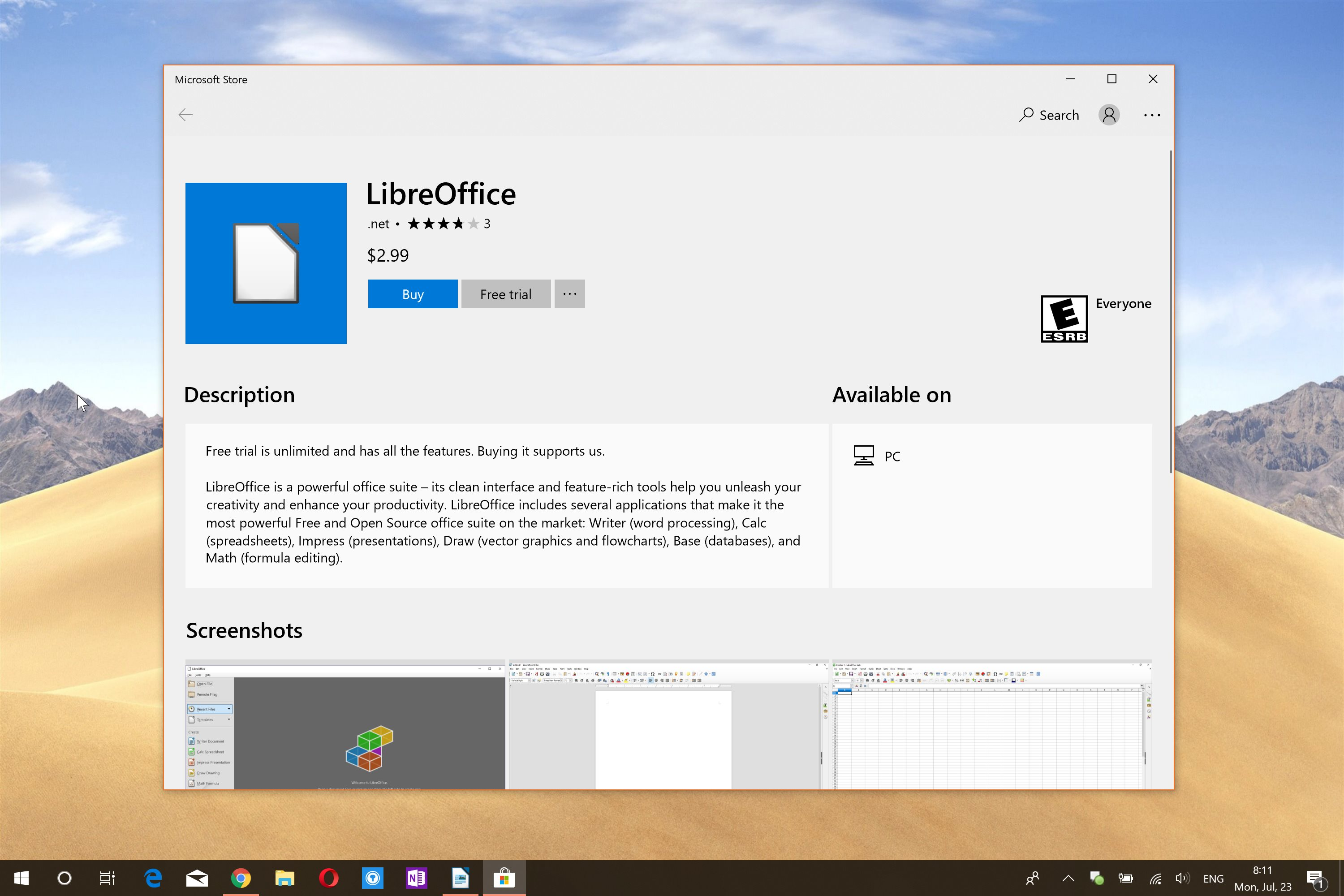 microsoft store for windows 10