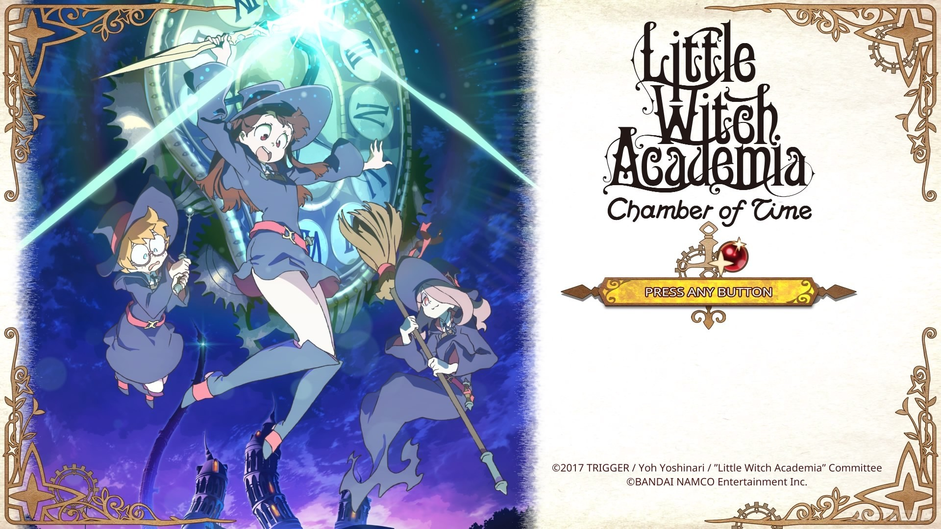 Little Witch Academia Chamber Of Time Review Ps4