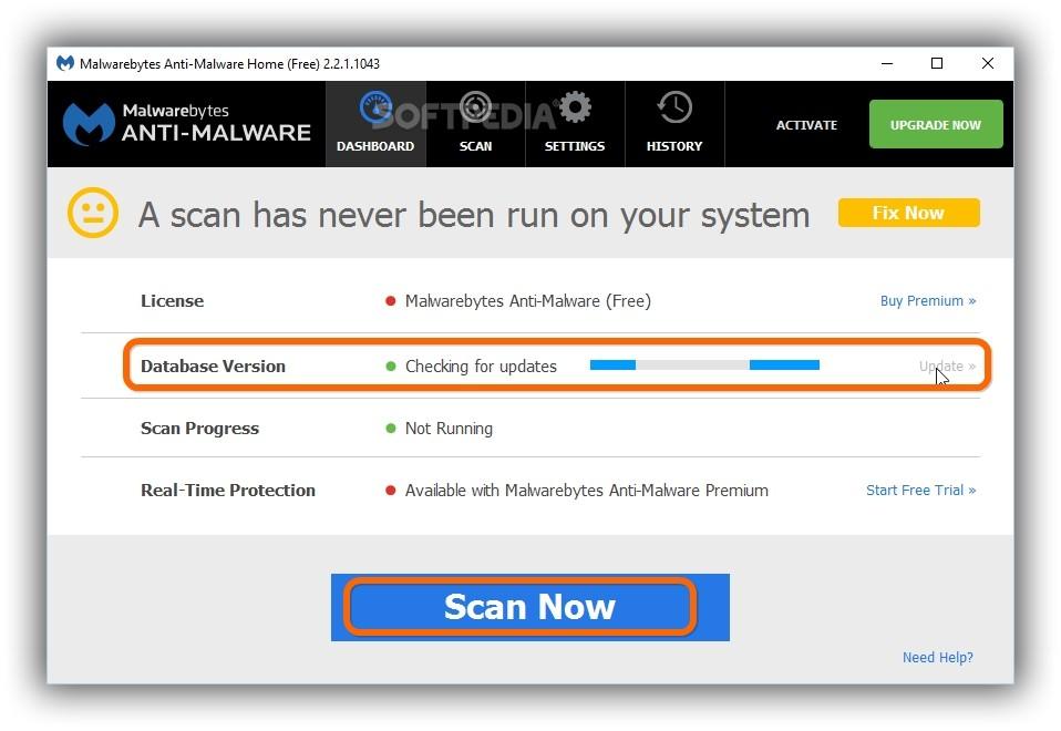malwarebytes anti malware explained usage video and download rh softpedia com malwarebytes update manual download malwarebytes anti-malware update manually